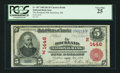 National Bank Notes:Maine, Rockland, ME - $5 1902 Red Seal Fr. 587 The Rockland NB Ch. #(N)1446. ...