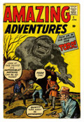 Silver Age (1956-1969):Horror, Amazing Adventures #1 (Marvel, 1961) Condition: GD/VG....