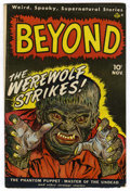 Golden Age (1938-1955):Horror, The Beyond #1 (Ace, 1951) Condition: VG....