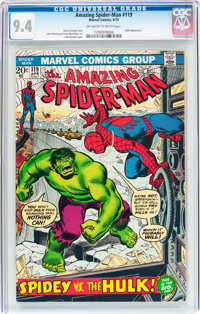 The Amazing Spider-Man #119 (Marvel, 1973) CGC NM 9.4 Off-white to white pages