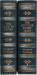Books:Biography & Memoir, Margaret Thatcher. SIGNED/LIMITED. The Downing Street Years[and:] The Path to Power. Norwalk: The Easto... (Total: 2Items)