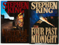 Books:Horror & Supernatural, Stephen King. Four Past Midnight [and:] NeedfulThings. Viking, [1990 and 1991].... (Total: 2 Items)