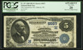 National Bank Notes:Wisconsin, Oshkosh, WI - $5 1882 Date Back Fr. 537 The Commercial NB Ch. # (M)5557. ...