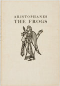 Books:Literature Pre-1900, John Austen, illustrations. SIGNED/LIMITED. Aristophanes. The Frogs. New York: The Limited Editions Club, 1937....