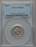 Three Cent Nickels: , 1872 3CN MS63 PCGS. PCGS Population (60/90). NGC Census: (31/72). Mintage: 861,000. Numismedia Wsl. Price for problem free ...