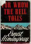 Books:Literature 1900-up, Ernest Hemingway. For Whom the Bell Tolls. New York: CharlesScribner's Sons, 1940....