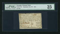 Colonial Notes:Georgia, Georgia September 10, 1777 $4/5 PMG Very Fine 25.. ...