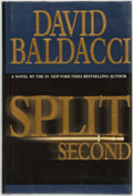 Books:Mystery & Detective Fiction, David Baldacci. SIGNED. Split Second. Warner Books,[2003]....