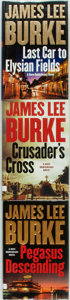 Books:Mystery & Detective Fiction, James Lee Burke. Trio of SIGNED Dave Robicheaux Novels. Simon & Schuster, [various dates].... (Total: 3 Items)