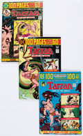 Bronze Age (1970-1979):Adventure, Tarzan Related Group of 12 (DC, 1972-76) Condition: Average NM-.... (Total: 12 Comic Books)