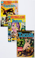 Bronze Age (1970-1979):Adventure, Tarzan Related Group of 30 (DC, 1970s) Condition: Average VF.... (Total: 30 Comic Books)