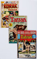 Bronze Age (1970-1979):Adventure, Tarzan Related Group of 39 (DC, 1970s) Condition: Average FN.... (Total: 39 Comic Books)