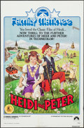 "Movie Posters:Adventure, Heidi and Peter & Others Lot (Paramount, R-1975). One Sheets(3) (27"" X 41"") & Mini Lobby Cards (2) (8"" X 10""). Adventure..... (Total: 5 Items)"