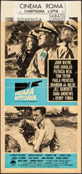 "Movie Posters:War, In Harm's Way (Paramount, 1965). Italian Locandina (13"" X 27"").War.. ..."