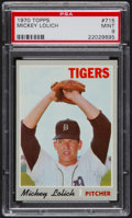 Baseball Cards:Singles (1970-Now), 1970 Topps Mickey Lolich #715 PSA Mint 9....
