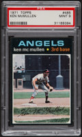 Baseball Cards:Singles (1970-Now), 1971 Topps Ken McMullen #485 PSA Mint 9....