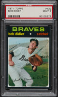 Baseball Cards:Singles (1970-Now), 1971 Topps Bob Didier #432 PSA Mint 9....