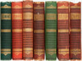 Books:Literature Pre-1900, [Pre-Raphaelites]. [Poetry/Philosophy]. Group of Seven Books.Various Publishers and dates. ... (Total: 7 Items)