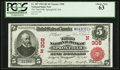 Springfield, MA - $5 1902 Red Seal Fr. 587 The Third NB Ch. # (N)308
