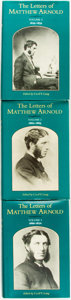 Books:Biography & Memoir, Matthew Arnold. Cecil Y. Lang, editor. The Letters of Matthew Arnold. Charlottesville: University Press of Virgi... (Total: 3 Items)
