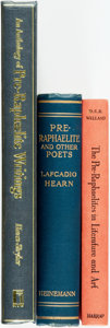 Books:Literature Pre-1900, [Literature]. Trio of Titles about Pre-Raphaelites. Variouspublishers and dates.... (Total: 3 Items)