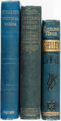 Books:Literature Pre-1900, [Literature]. Trio of Titles Related to Percy Shelley. Variouspublishers and dates.... (Total: 3 Items)