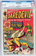 Silver Age (1956-1969):Superhero, Daredevil #2 (Marvel, 1964) CGC FN 6.0 White pages....