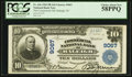 National Bank Notes:North Carolina, Raleigh, NC - $10 1902 Plain Back Fr. 626 The Commercial NB Ch. # 9067. ...