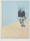 Fine Art - Work on Paper:Print, Francis Bacon (British, 1909-1992). Study for Self-Portrait1982, 1984. Offset lithograph in colors. 32 x 24 inches (81....