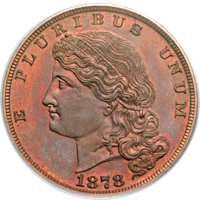 1878 $5 Five Dollar, Judd-1574, Pollock-1766, R.6, PR65 Red and Brown PCGS. CAC....(PCGS# 71937)