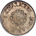Colonials, 1783 6PENCE Chalmers Sixpence, Large Date XF40 PCGS. Breen-1014, W-1770, R.6....