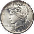 Peace Dollars, 1926-D $1 MS67 PCGS. CAC....