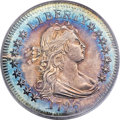 Early Quarters, 1796 25C B-1, R.4, AU58 PCGS. ...