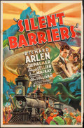 "Movie Posters:Action, Silent Barriers (Gaumont, 1937). One Sheet (27"" X 41"") Style A.Action.. ..."