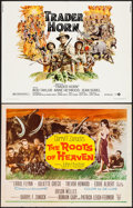 "Movie Posters:Adventure, The Roots of Heaven & Other Lot (20th Century Fox, 1958). HalfSheets (2) (22"" X 28""). Adventure.. ... (Total: 2 Items)"