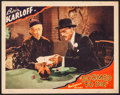 "Movie Posters:Mystery, Doomed to Die (Monogram, 1940). Lobby Card (11"" X 14""). Mystery....."
