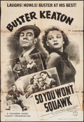 """Movie Posters:Comedy, So You Won't Squawk? (Columbia, 1941). One Sheet (27"""" X 41"""").Comedy.. ..."""
