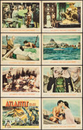 """Movie Posters:Adventure, Atlantis, the Lost Continent (MGM, 1961). Lobby Card Set of 8 (11""""X 14""""). Adventure.. ... (Total: 8 Items)"""