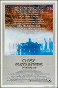 """Movie Posters:Science Fiction, Close Encounters of the Third Kind (Columbia, R-1980). One Sheet (27"""" X 41""""), Lobby Card Set of 8 (11"""" X 14""""), German Lobby ... (Total: 11 Items)"""
