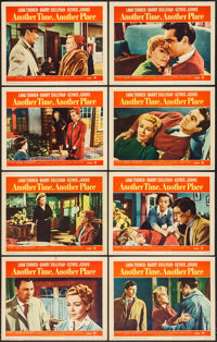 "Another Time, Another Place (Paramount, 1958). Lobby Card Set of 8 (11"" X 14""). Drama. ... (Total: 8 Items)"
