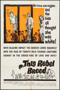 """Movie Posters:Exploitation, This Rebel Breed (Warner Brothers, 1960). One Sheet (27"""" X 41"""").Exploitation.. ..."""