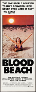 """Movie Posters:Horror, Blood Beach (Jerry Gross, 1981). Inserts (20) (14"""" X 36""""). Horror.. ... (Total: 20 Items)"""