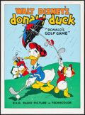 "Movie Posters:Animation, Donald's Golf Game (Circle Fine Art, R-1980s). Fine Art Serigraphs(5) (22.5"" X 30.5""). Animation.. ... (Total: 5 Items)"