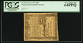 Colonial Notes:Pennsylvania, Pennsylvania April 3, 1772 18d PCGS Very Choice New 64PPQ.. ...