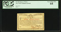 Colonial Notes:New York, New York January 6, 1776 (Water Works) 2s PCGS Very Choice New 64.....