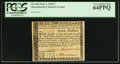 Colonial Notes:Massachusetts, Massachusetts May 5, 1780 $7 PCGS Very Choice New 64PPQ.. ...