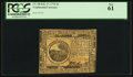 Colonial Notes:Continental Congress Issues, Continental Currency February 17, 1776 $6 PCGS New 61.. ...