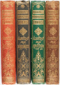 Books:Literature Pre-1900, [Lord Byron, Alfred Lord Tennyson, et al]. Group of Four fromMoxon's Miniature Poets Series. London: Edward Mox...(Total: 4 Items)