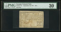 Colonial Notes:Georgia, Georgia September 10, 1777 $1/2 PMG Very Fine 30.. ...