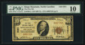 National Bank Notes:North Carolina, Kings Mountain, NC - $10 1929 Ty. 1 The First NB Ch. # 5451. ...